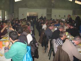 Près de 250 personnes ont participé au repas offert par l'ESAT composé de produits locaux de qualité